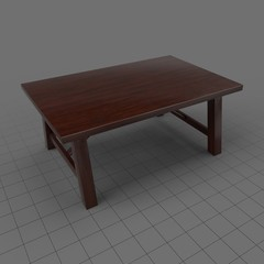 Traditional dining table 1