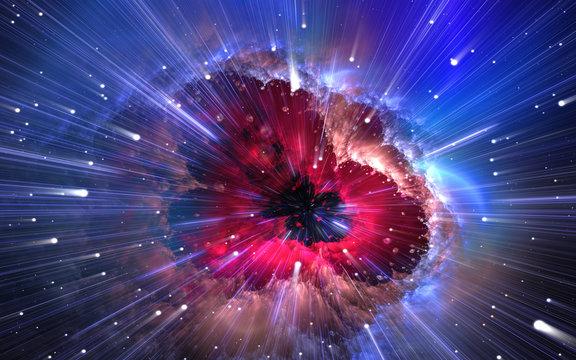 Quantum physics, time quantum travel. Nanocosmos, nanoworld