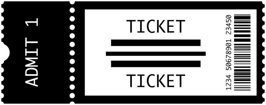 Concert Tickets Vector
