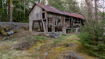 Sägewerk in Norwegen