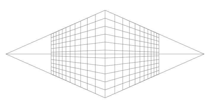 perspective grid vector