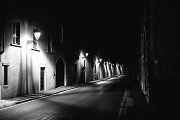 Italy Noir Fotomurales