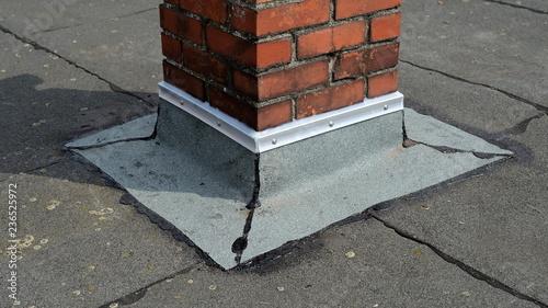 Dachdecken Flaches Dach Reparatur Dachdecker Flachdach