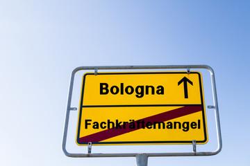 Bologna Fachkräftemangel