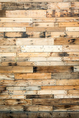 Rustic barn wood background with copy space.