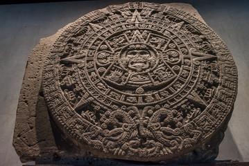 Calendario azteca mexicano