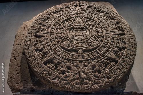 Photosi Calendario.Calendario Azteca Mexicano Stock Photo And Royalty Free