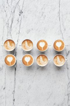 Wonderful latte art