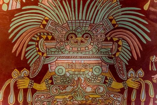 representaciones de dioses aztecas mexicanos