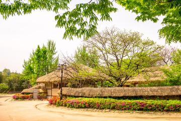 The house of Wolmae at Gwanghalluwon Garden