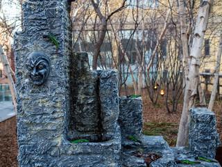 A Stone Art at New York City 石のアート