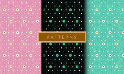 Geometric Dotted Patterns
