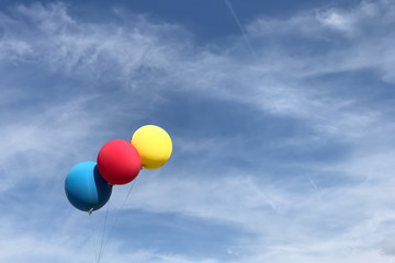 Farbe am Himmel