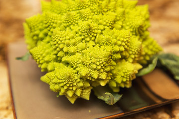 Romanesco, Strange Vegetable, Fresh Broccoli