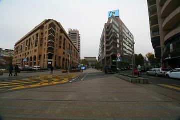 Northern Avenue in Yerevan, Armenia.