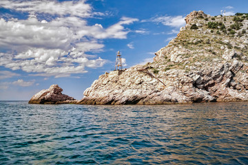 Rocks in Balaklava bay