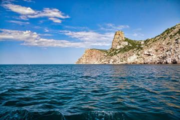 Black sea near Balaklava