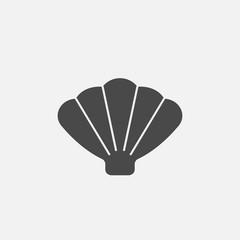 Sea shell vector icon