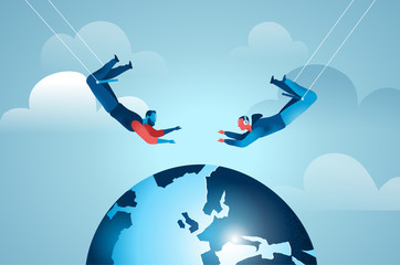 Acrobatic Cooperation