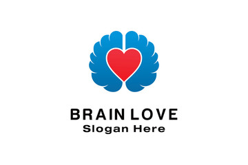 BRAIN LOVE LOGO DESIGN