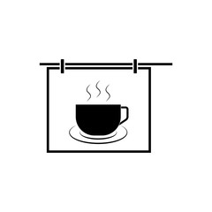 cup, icon, vector illustration eps10