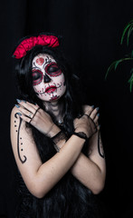 recreation of the Mexican Day of the Dead