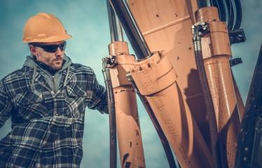 Excavator Hydraulic Boom