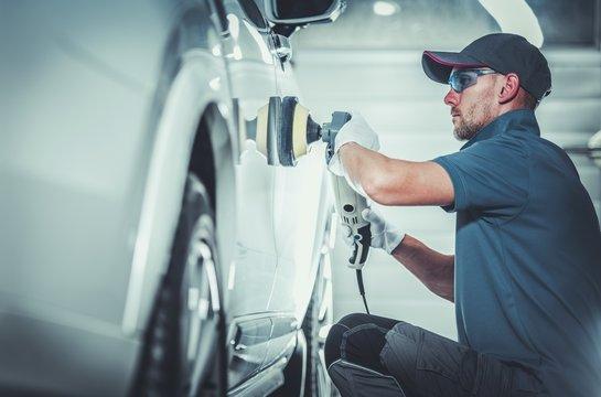 Professional Car Body Waxing