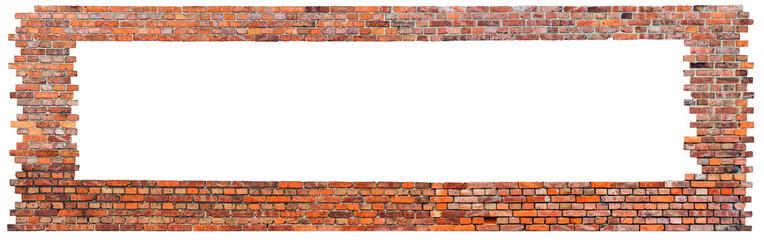 Backsteinmauer - Freisteller