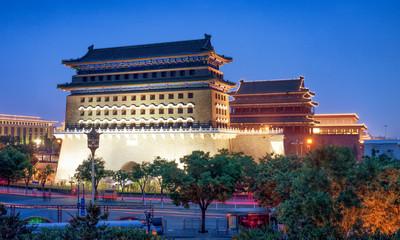 Qianmen Tor in Peking, China