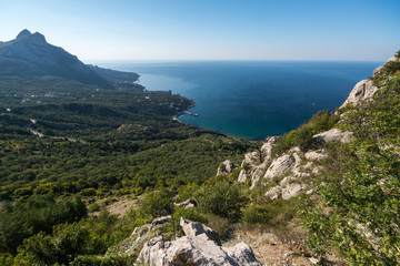 View of Laspi Bay from the mountain