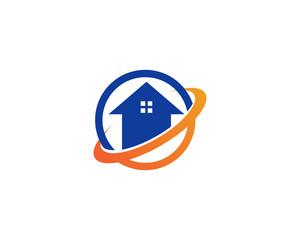 Home logo building vectors