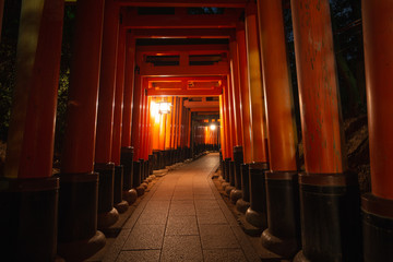 fushimi inari shrine in kyoto japan