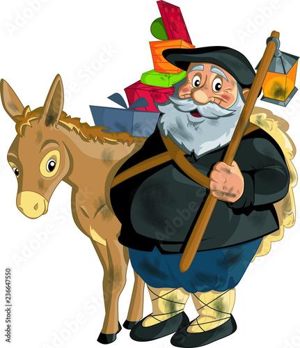 Dibujos De Navidad Del Olentzero.Navidad Olentzero Dibujo Stock Image And Royalty Free
