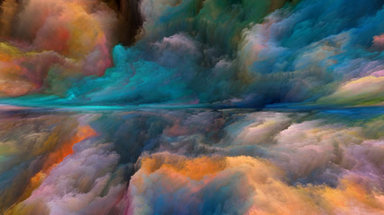 Cloud Abstract Landscape