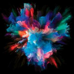 Propagation of Color Splash Explosion