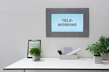 Teleworking, Homeoffice