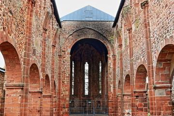 Chor der Totenkirche, Ruine