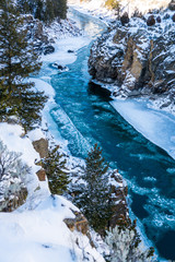 Winter on the Yellowstone River