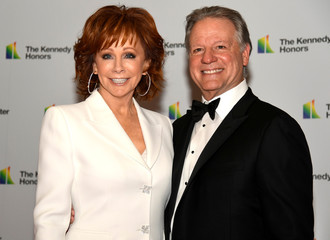 Kennedy Center Honoree Reba McEntire arrives for gala at US State Department