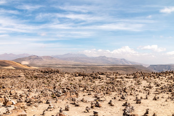 Peruvian Andes Landscape