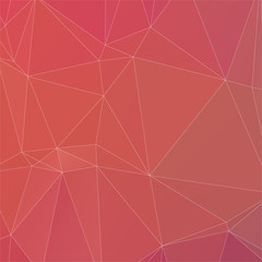Abstract peach color with white line polygon texture