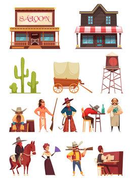Cowboy Wild West Set