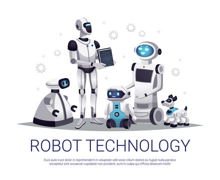 Robot Technology Flat Composition