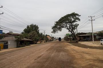 Laos - Vientiane - Fahrt zum Buddha Park