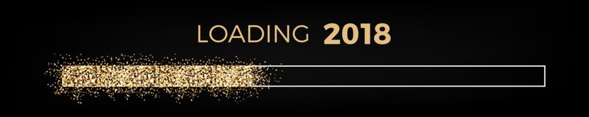 Loading 2018 glitter bar progress