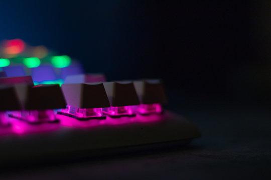 keyboard tastatur rgb color