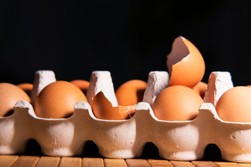 Egg as a symbol of incubator