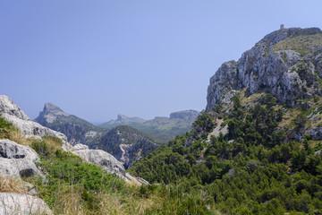Mallorca, Spain. View of Cape Formentor (Cap de Formentor)