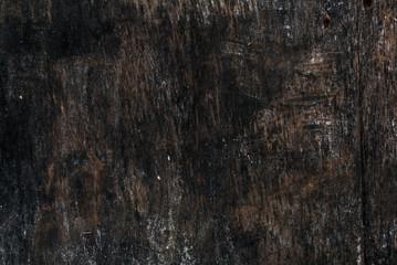 Old dark empty wooden billboard texture background